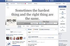 Von Juni bis Dezember 2014 war ich Social Media Redakteurin für den bekannten Blogger aus Berlin mit seinem Blog www.anti-uni.com. Er ist nicht gegen Bildung, sondern ist mittlerweile Entrepreneur und setzt sich für eine neue Art der Bildung ein, die den Ansprüchen der neuen Generation und dem Zeitgeist entspricht. Ich habe durch zielgruppenspezifischen Content zum Aufbau der Fans/Follower beitragen können.