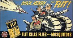 1941 Flit ad / illustration by Dr. Suess