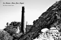 Terreros de Pozo Rico, Mina de San Miguel. La Minera. Linares, Andalucía, España.