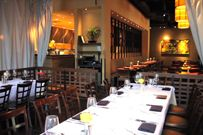 "Jasper's, the second restaurant concept of Executive Chef and Partner Kent Rathbun, promises to deliver a unique array of tantalizing dishes and open your eyes to the world of ""gourmet backyard cuisine."" Rathbun, an Iron Chef America winner and four-time James Beard Award nominee, wanted the Jasper's menu to reflect a ""home cooking"" style with the best of America's regional cuisine, including exceptional selections of rotisserie chicken, fish, prime steaks, salads and pizza."