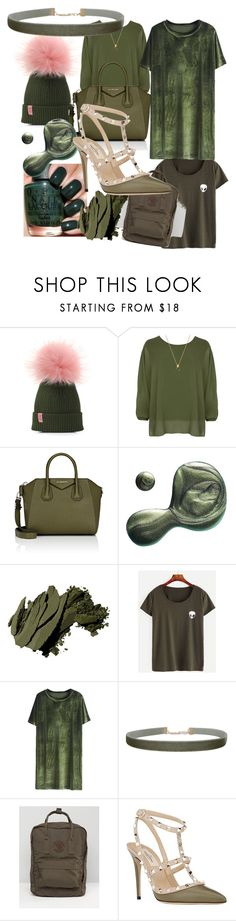 """""""Olive"""" by pinkfashion15 ❤ liked on Polyvore featuring WearAll, Givenchy, Illamasqua, Bobbi Brown Cosmetics, Humble Chic, Fjällräven and Valentino"""
