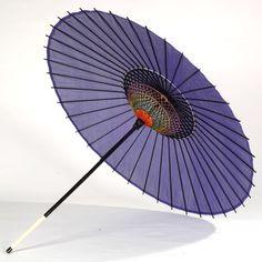 Ombrelle japonaise en soie