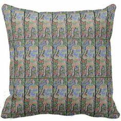 Pottery Barn Rikissa Pillow Cover Neutral 22 sq Velvet Tapestry Rug New