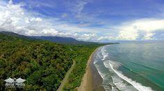 Aerial Photo Playa Hermosa, Costa Rica