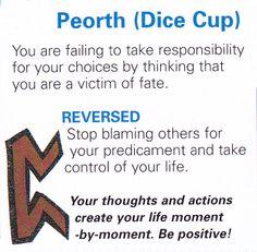 Peorth ( Dice cup )