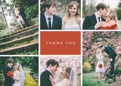 Your wedding day will be filled with generous gestures by family and friends, and a custom thank-you note is an especially gracious way to express your appreciation.