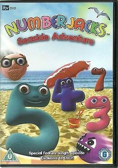 #Numberjacks seaside adventure dvd #special feature #length episode  (kids),  View more on the LINK: http://www.zeppy.io/product/gb/2/400771393140/