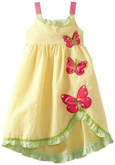 e19e9ea102af Rare Editions Girls 2-6X Seersucker Dress