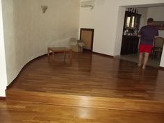 Mansarda 2° piano con parquet come piano inferiore