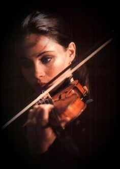 I hear violins.