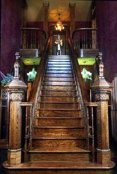 The Munster Mansion Stairway