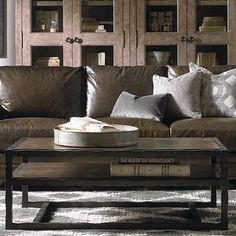 Compass Rectangular Cocktail Table by Bassett Furniture