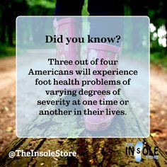 Experiencing pain in your feet? Check out our insole guide to get started! https://www.theinsolestore.com/insole-guide?utm_content=buffer61f17&utm_medium=social&utm_source=pinterest.com&utm_campaign=buffer