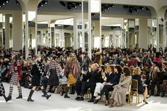 Chanel Fall 2016 Ready-to-Wear Fashion Show Atmosphere