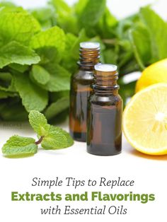 How Do You Replace Extracts and Flavorings with Essential Oils? | RecipesWithEssentialOils.com