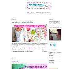 Projekt abgeschlossen: Schaffenslust Web-Blog ist online // Responsive Webdesign