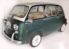 1959 Fiat 600 Multipla Sport Van Microcar