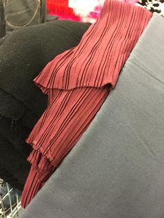 Fabric for (L-R) tunic, tabard, tabard trim & obi belt
