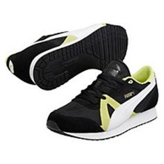 I NEED NEW SHOES. Constantly killing myself looking at new shoes, anyone want to buy me these delightful Puma TF-Racer Mesh Trainers #sneakers #offduty #covetme #puma #fashion #creps #blackandyellow