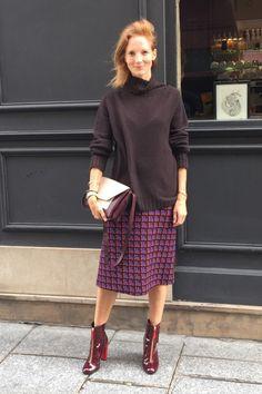 Arabella Greenhill in Marni At Paris Fashion Week S/S16