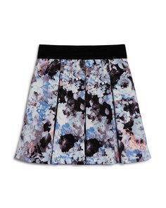 48.00$  Watch here - http://vizgl.justgood.pw/vig/item.php?t=wqn9jw58476 - AQUA Girls' Floral Pleated Skirt - Big Kid - 100% Exclusive