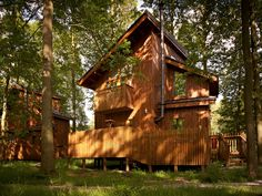 One bedroom cabins at Sherwood Forest complete with Juliet balcony and private #hottub