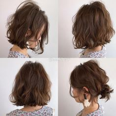 Japanese hairstyle design has always had its characteristics. So today we have collected 65 kinds of Japanese Messy short hairstyles idea. Let's look for amazing hair inspiration. Messy Short Hair, Asian Short Hair, Wavy Hair, Cool Short Hairstyles, Permed Hairstyles, Pretty Hairstyles, Hairstyle Short, Japanese Hairstyle, Hair Day