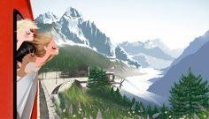 A Swiss Train Ride