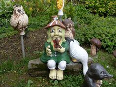 Czech Republic garden statues