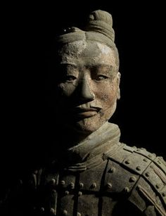 Armored general Qin Dynasty 221–206 BCE