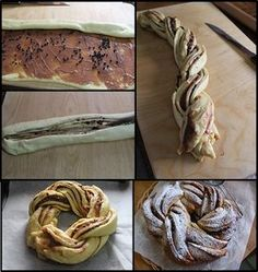 Come fare l'angelica dolce Braided Bread, Strudel, Biscotti, Cake Recipes, Bakery, Beverage, Muffin, Cupcakes, Foods