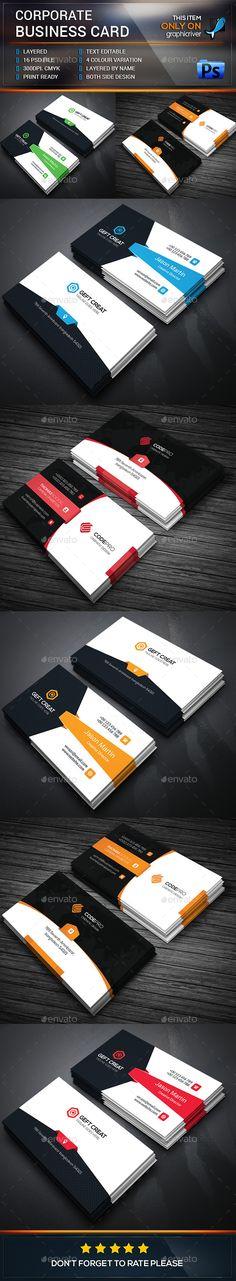Business Card Bundle Template #design #visitcard Download: http://graphicriver.net/item/business-card-bundle/12999533?ref=ksioks