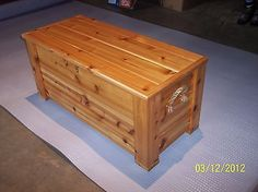 CEDAR CHEST, TOY BOX, EQUINE HORSE TACK BOX CHEST, GEAR STORAGE TRUNK