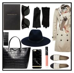 """""""Tote bag chic"""" by gold-candle23 ❤ liked on Polyvore featuring Givenchy, Chanel, Burberry, Ray-Ban, NARS Cosmetics, rag & bone, Smythson, Monki, Lord & Taylor and women's clothing"""