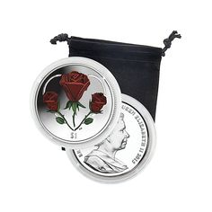 Coin Collector 2015 British Virgin Islands Heart of Roses Coin