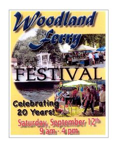 The Woodland Ferry Association is September 12th. Located 4 miles from Seaford, DE it features food, entertainment, Arts & Craft vendors, exhibits, ferry rides and more. For more info see their page at https://www.facebook.com/woodlandferryfestival #WoodlandFerryFestival #Seaford #Delaware #sussexde