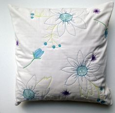 Original Thread Drawn Quilted Pillow Cover 18 by WiseCrafthandmade Quilted Pillow, Girl Room, Pillow Covers, Draw, Throw Pillows, The Originals, Style, Swag, Pillow Case Dresses
