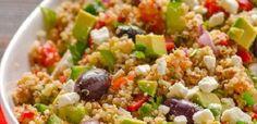 Ensalada de quinoa mediterranea | Recetas faciles, Videos de Cocina | SaborContinental.com