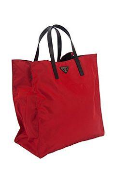 prada nylon tote handbag