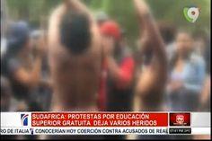 ¡Al Desnudo! Un Grupo de Estudiantes en Sudáfrica protestan exigiendo educación Superior Gratuita