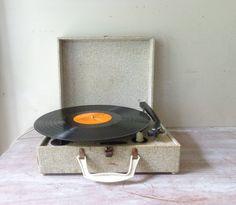 Vintage Portable Record Player