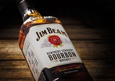 Jim Beam Bourbon - Rob Clarke Type Design & Lettering
