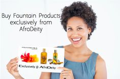 Fountain Products at AfroDeity