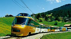 Part II of Switzerland's Golden Pass panoramic train which travels from Lucerne to Montreux through forested mountains and rolling countryside. Engelberg, Third Rail, Valley Landscape, Tramway, Swiss Railways, Trains, Lake Geneva, Countryside, The Neighbourhood