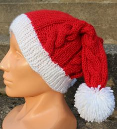 Cable hand knitted the Big Bang Theory Christmas by ingrascrafts