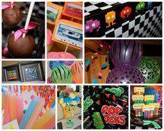 Back to the 80's Birthday Bash! | Superchick Studio