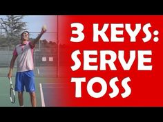 Secrets of the Toss - YouTube Tennis Serve, Tennis Match, Tennis Techniques, Tennis Workout, Tennis Tips, Heath And Fitness, Free Kick, Tennis Players, Drills