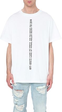 OFF-WHITE C/O VIRGIL ABLOH Care of Virgil Abloh cotton t-shirt