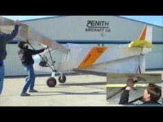 Folding Wings Option for storage and trailering: Zenith STOL CH 750 light sport utility kit plane