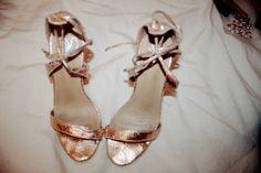 golden rose highheels